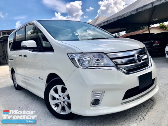 2014 NISSAN SERENA 2.0 S-HYBRID HIGHWAY-STAR (A) FACELIFT FULL SPEC FULL SERVICE RECORD