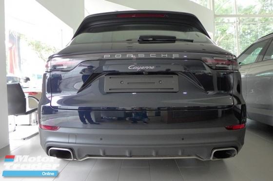 2018 PORSCHE CAYENNE CAYENNE 3.0L V6 NEW MODEL