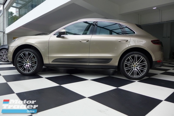 2015 PORSCHE MACAN S 3.0 V6 IMPORTED NEW
