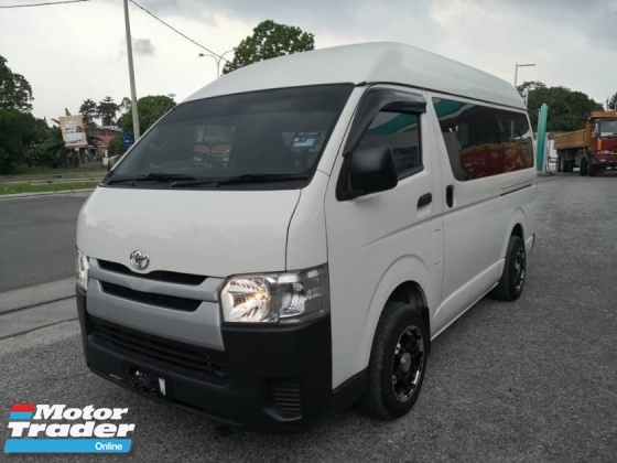 2015 TOYOTA HIACE WINDOW VAN FACELIFT MODEL FULL SERVICES ROOF MONITOR REVERSE CAMERA TIPTOP