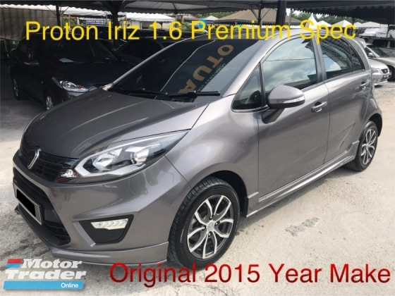 2015 PROTON IRIZ 1.6 FULL PREMIUM SPEC, 1 HOUSE WIFE OWNER, LOW MILEAGE , TIP TOP CONDITION ,LEATHER KEYLESS, PUSHSTART,