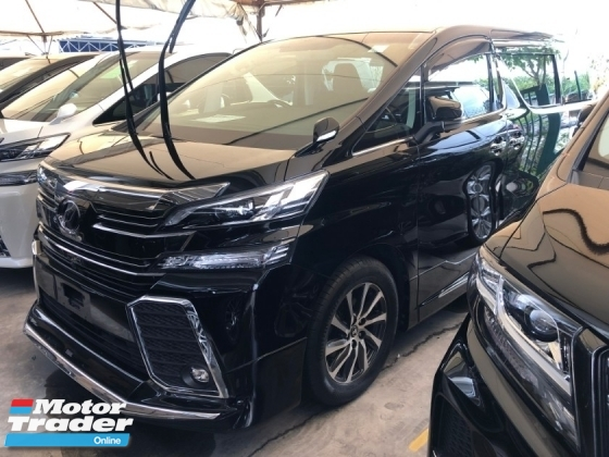 2015 TOYOTA VELLFIRE 2.5 ZG Modelista Edition 360 View Surround Camera Memory Pilot Seat Automatic Power Boot 2 Power Doors Intelligent Bi LED Smart Entry Push Start 9 Air Bag Unreg