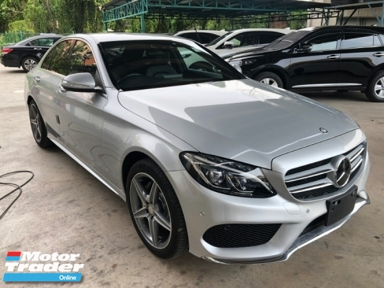 2014 MERCEDES-BENZ C-CLASS C200 AMG Sport 2.0 Turbocharged 211hp Memory Bucket Seat Collision Prevention Assist Distronic PLUS Intelligent LED Smart Entry Paddle Shift Steering Bluetooth Connectivity Unreg