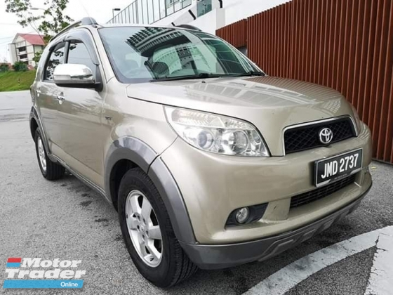 2010 TOYOTA RUSH 1.5 S (A) TIPTOP CONDITION ONE OWNER