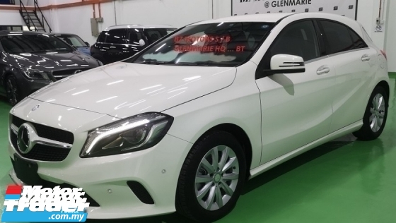 2016 MERCEDES-BENZ A-CLASS 2016 MERCEDES BENZ A180 SE 1.6 TURBO NEW UNREG JAPAN SPEC CAR SELLING PRICE ONLY RM 129000.00 NEGO