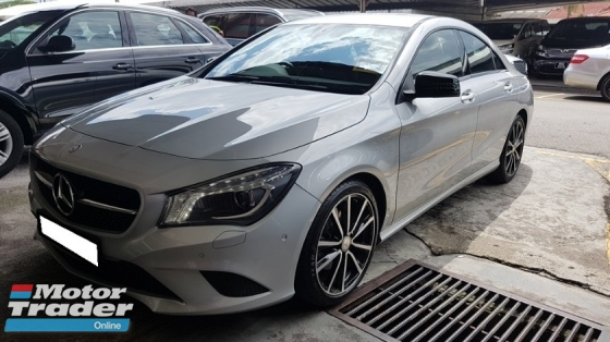 2015 MERCEDES-BENZ CLA CLA200 1.6cc CGI (A) REG 2015, ONE CAREFUL OWNER, FULL SERVICE RECORD, LOW MILEAGE DONE 34K KM, FREE 1 YEAR GMR CAR WARRANTY