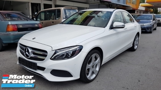 2017 MERCEDES-BENZ C-CLASS C200 CGI 2.0cc (A) REG 2017, ONE CAREFUL OWNER, FULL SERVICE RECORD, LOW MILEAGE DONE 36K KM, UNDER WARRANTY UNTIL SEPTEMBER 2021