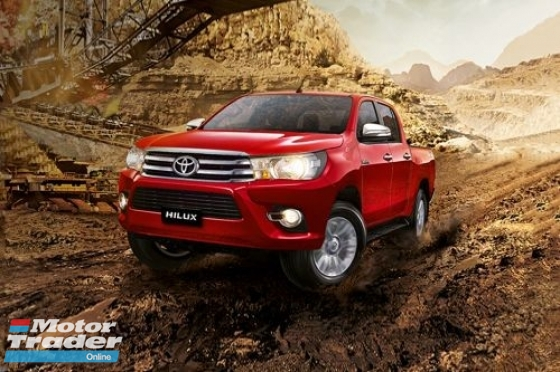 2019 TOYOTA HILUX DOUBLE CAB 2.5 L-EDITION (AT)