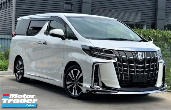 2018 TOYOTA ALPHARD 2.5SC FULLY LOADED MODELISTA BODYKITS