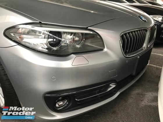 2014 BMW 5 SERIES 520I LUXURY FACELIFT LIGHTBAR 2014 JAPAN UNREG LEATHER SEAT KEYLESS FREE WARRANTY