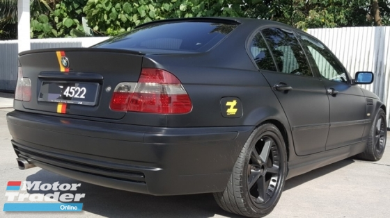 2005 BMW 3 SERIES 318I E46 1.9 (A) Matte Black (CBU) Good Condition Accident Free No Repair Need Worth Buy ( Selling Cash Only )