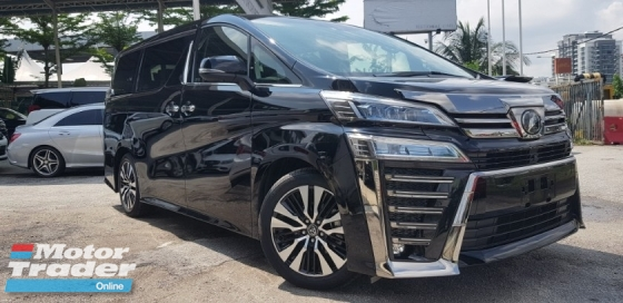 2018 TOYOTA VELLFIRE 2.5ZG Edition~HIGH SPEC~