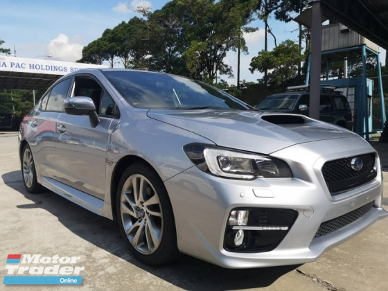 2016 SUBARU WRX S4 AWD 2.0 (A) TURBO JAPAN SPEC