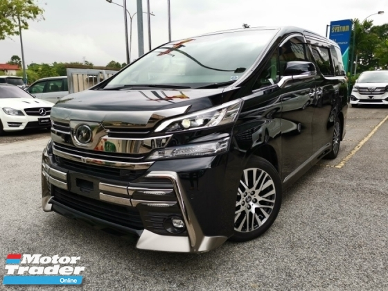 2016 TOYOTA VELLFIRE 3.5 ZG ZAG JBL 4CAM HOME THEATER FULL SPEC NEW TAILAMP UNREG