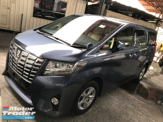 2016 TOYOTA ALPHARD 2.5 8 SEAT GREY COLOUR 2 POWER DOORS POWER BOOTH 360 SURROUNDING CAMERA 2016 JAPAN UNREG