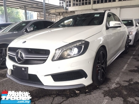 2014 MERCEDES-BENZ A-CLASS A45 AMG 4MATIC.UNREG.NO HIDDEN CHARGE.TRUE YEAR MADE CAN PROVE.JPN.PADDLE SHIFT.ORI AMG KIT N RIM.LED LIGHT.MEMORY SEAT,LEATHER.REVERSE CAMERA.PARKTONIC N ETC.FREE WARRANTY N MANY GIFTS