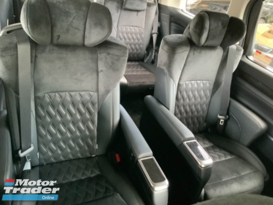 2015 TOYOTA VELLFIRE 2.5 ZG pilot seat 2 power door power boot camera Japan unregistered