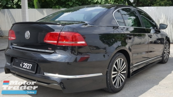 2013 VOLKSWAGEN PASSAT 1.8 (A) TSI Turbo Car Keep In Excellent Condition 68k Km Mileage Never Accident Before No Repair Need Free 1 Year Warranty Worth Buy