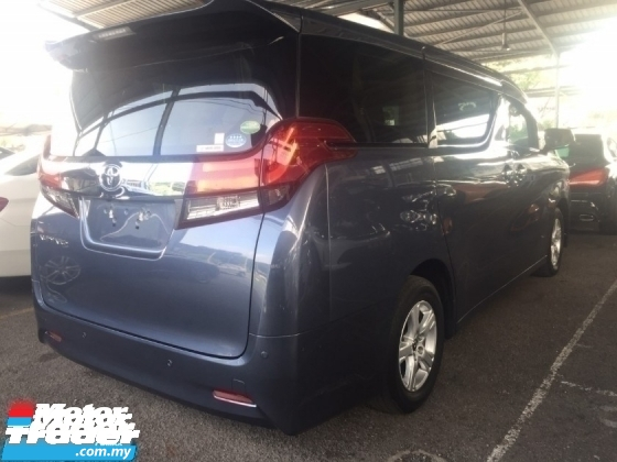 2016 TOYOTA ALPHARD 2.5 G UNREG.NO HIDDEN CHARGE.TRUE YEAR MADE CAN PROVE.2 WHEEL DRIVE.7 SIT.3 POWER DRS N BOOT.360 CAMERA N ETC.FREE WARRANTY N MANY GIFTS