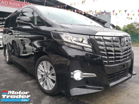 2016 TOYOTA ALPHARD 2.5 S 8 SEAT SUNROOF 8 SEATER 2 POWER DOOR