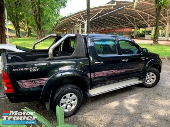 2006 TOYOTA HILUX DOUBLE CAB 2.5G (AT) TURBODIESEL 4X4 1 OWNER