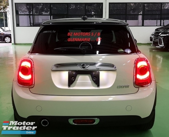2014 MINI 3 DOOR 2014 MINI COOPER S 1.5A TWIN TURBO NEW FACELIFT JAPAN SPEC SELLING PRICE ( RM 118,000.00 NEGO )