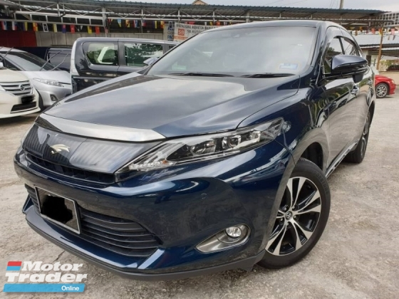 2016 TOYOTA HARRIER TOYOTA HARRIER 2.0 MAUVE PREMIUM ADVANCE P.BOOT 2 ELECTRIC SEAT