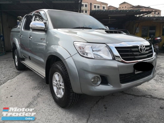 2013 TOYOTA HILUX 2.5 AT VNT Intercooler True Year Made