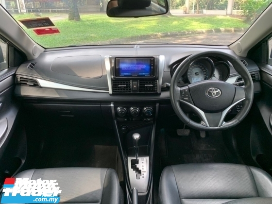 2015 TOYOTA VIOS 1.5G (AT) ENHANCED SMART/PUSHSTART/BLACK LEATHER