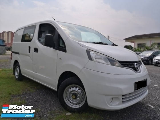 2013 NISSAN NV200 SEMI PANEL VAN