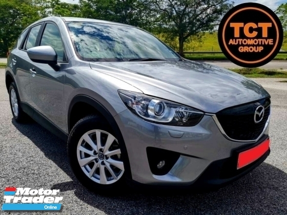 2014 MAZDA CX-5 2.0 (A) 2WD SKYACTIV SUV (CKD) LEATHER SEAT KEYLESS & START REVERSE CAMERA