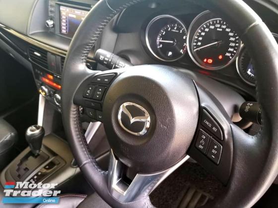 2014 MAZDA CX-5 2.0 (A) 2WD SKYACTIV SUV (CKD) LEATHER SEAT KEYLESS & START REVERSE CAMERA