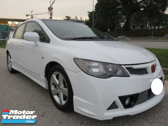 2012 HONDA CIVIC 1.8 (A) S-L Full Mugen RR Bodykit Full Leather Seat Accident Free Tip Top Condition