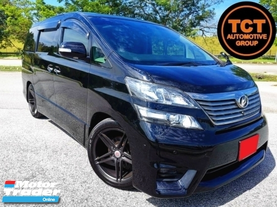 2010 TOYOTA VELLFIRE 3.5 (A) VL FULL SPEC SUN & MOONROOF KEYLESS ENTRY & START HOME THEATER COLD BOX 2 POWER DOOR & POWER BOOT