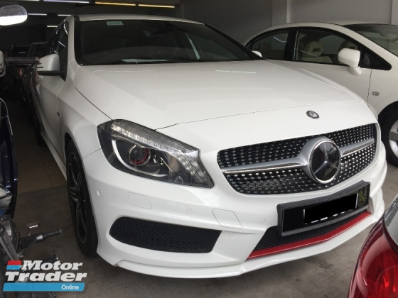 2014 MERCEDES-BENZ A250 AMG Full Service Record Actual Year Make