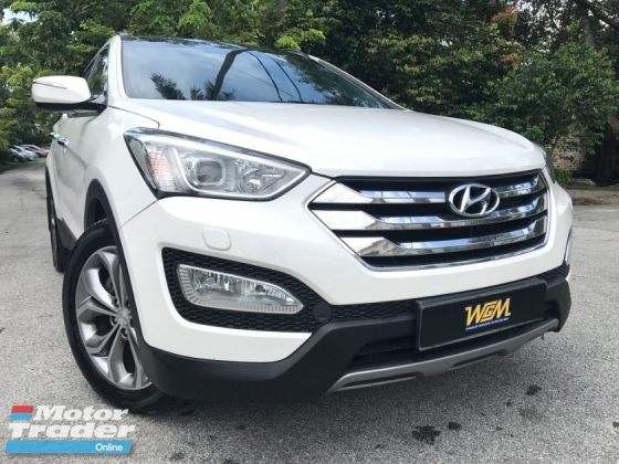 2014 HYUNDAI SANTA FE 2.2 (A)DOKTOR OWNER LOW MILAGE LIKE NEW