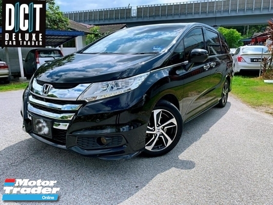 2015 HONDA ODYSSEY 2.4(A) ABSOLUTE LIMITED EXV HIGH SPEC 360 CAMERA FULL LEATHER WITH OTTOMAN SEAT 2PWR DOOR SMART PARKING ASSISTANT