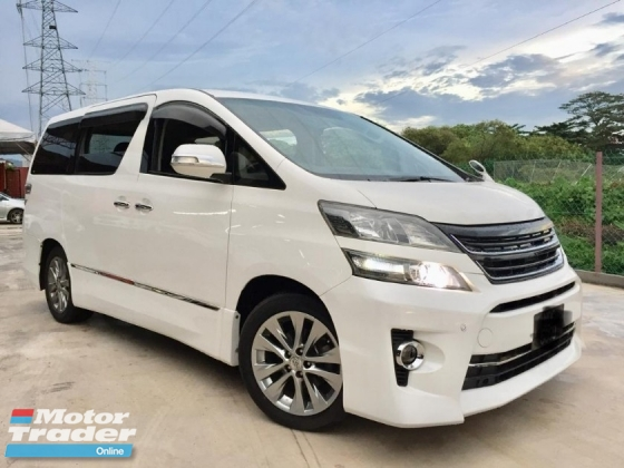 2010 TOYOTA VELLFIRE 2.4Z PLATINUM SELECTION TIP TOP CONDITION