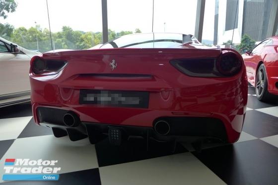 2016 FERRARI 488 GTB ROSSO CORSA