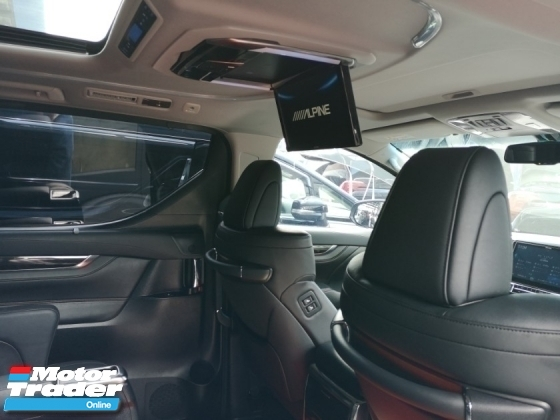 2016 TOYOTA ALPHARD Toyota Alphard SC Full ALPINE Sounds System, MODELISTA kits.