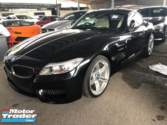 2015 BMW Z4 M Sport sDrive 2.0 Twin-Power-Turbocharged 8-Speed Convertible Hard Top i-Drive Interface Multi Function Paddle Shift Steering Sport Plus/Eco Pro Dual Climate Control Bi-Xenon Park Assist Reverse Camera Bluetooth Connectivity Unreg