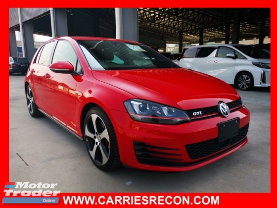 2014 VOLKSWAGEN GOLF GTI MK7 - HOT COLOR - MUST VIEW - TOP CONDITION 0 JAPAN UNREG