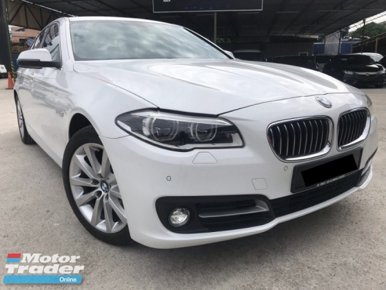 2015 BMW 5 SERIES 520I NEW FACELIFT LOCAL CKD SPEC F/SERVICE RECORD UNDER WARRANTY