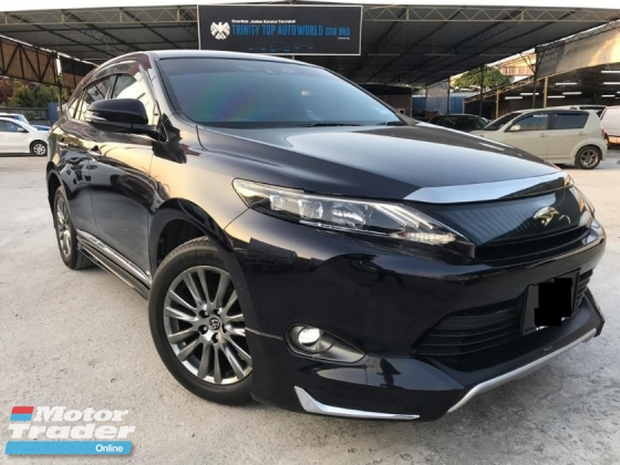 2015 TOYOTA HARRIER 2.0 PREMIUM ADVANCE NEW MODEL FULL SPEC POWERBOOT CAR KING
