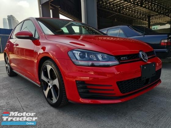2014 VOLKSWAGEN GOLF GTI DCC Keyless Entry JP Unreg Sale Offer