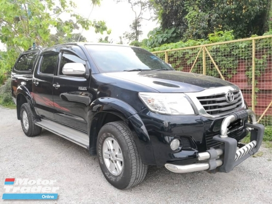 2012 TOYOTA HILUX DOUBLE CAB 2.5G (MT) WITH WARRANTY