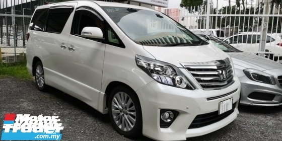 2014 TOYOTA ALPHARD SC 2.4CC / PILOT SEATS / FULLY SPEC / READY STOCK NO NEED WAIT