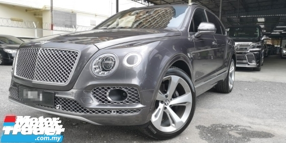 2017 BENTLEY BENTAYGA 6.0 V12 / O