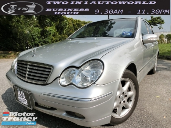 2003 MERCEDES-BENZ C-CLASS C240 AVANTGARDE (A) 1 CAREFUL OWNER / WELCOME CASH BUYER / CAR KING LIKE NEW