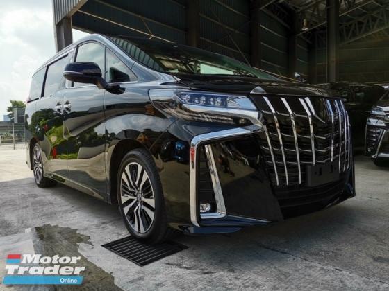 2018 TOYOTA ALPHARD 2.5 SC NFL 3LED SR Pre Crash Demo Car Unreg Sale Offer
